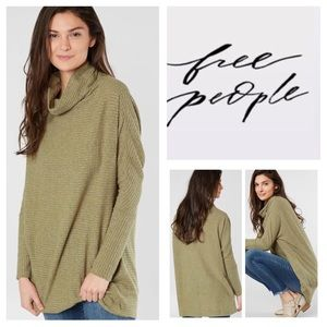 Free People Kitty Thermal Tunic.  NWT.